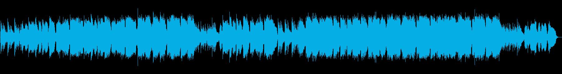 和風 のびやかな感動バラード 篠笛生演奏の再生済みの波形