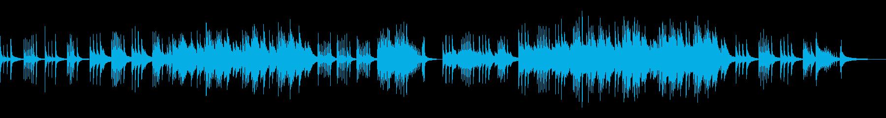 ピアノソロ アンビエント感 切ない 空の再生済みの波形