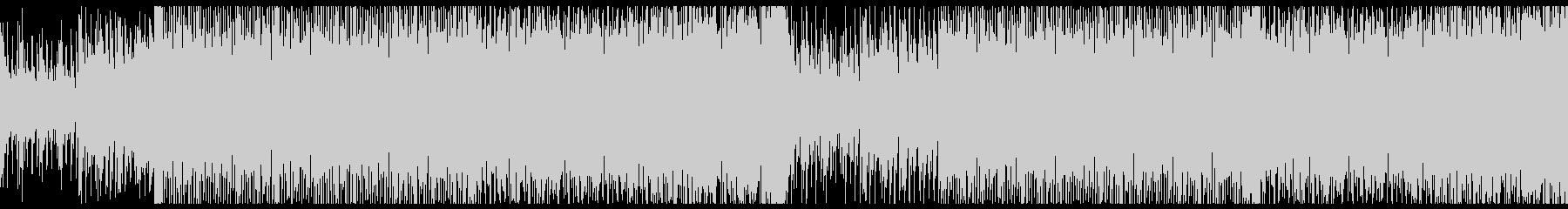 バイオリンメインの壮大な4つ打ちの未再生の波形
