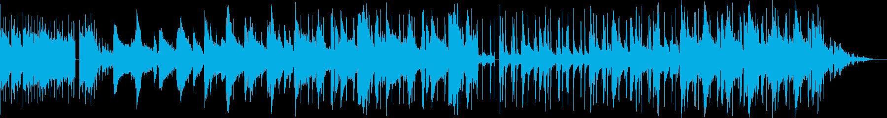 夜のジャズ lo-fiの再生済みの波形