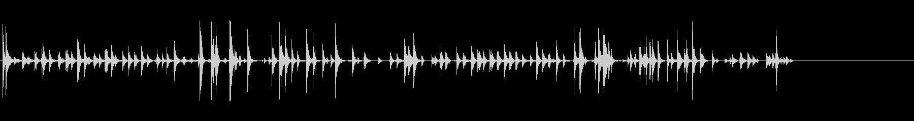 漫画-ガタガタの未再生の波形