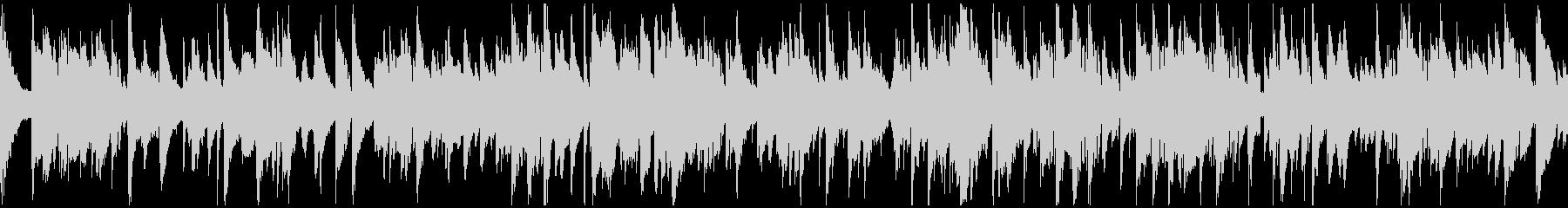 センチメンタルなジャズバラード※ループ版の未再生の波形