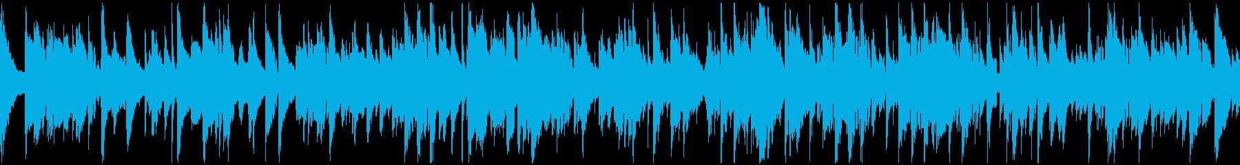 センチメンタルなジャズバラード※ループ版の再生済みの波形