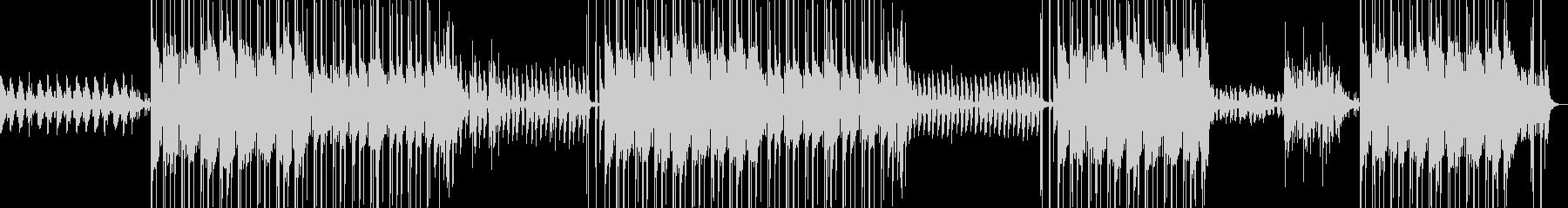 ハロウィン・ヒップホップ・ホラー・幽霊の未再生の波形
