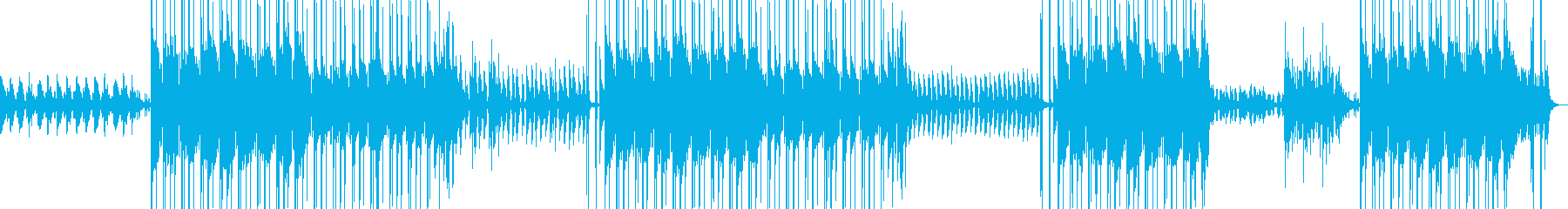 ハロウィン・ヒップホップ・ホラー・幽霊の再生済みの波形