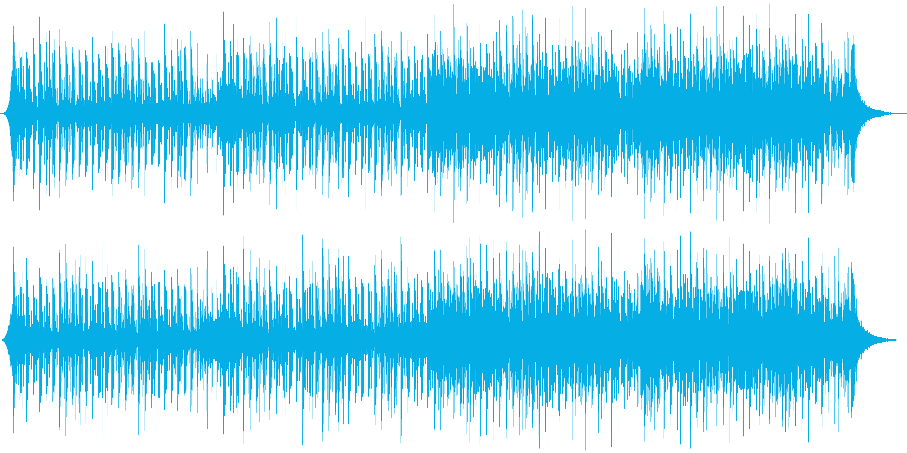 企業VP系54、シンプル、シンセ、爽快bの再生済みの波形