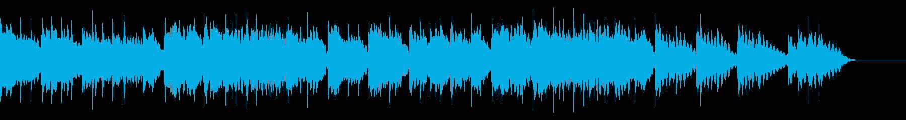 エンディング 優しいメロディのエレピの再生済みの波形