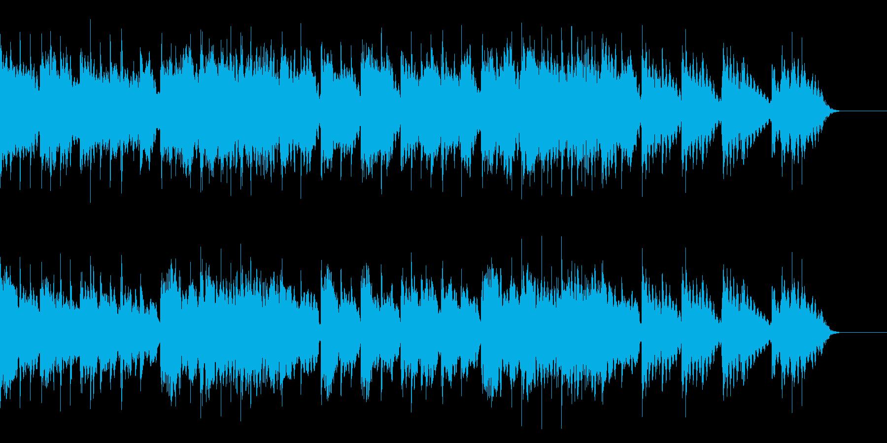 エンディング感のある優しい旋律のエレピの再生済みの波形