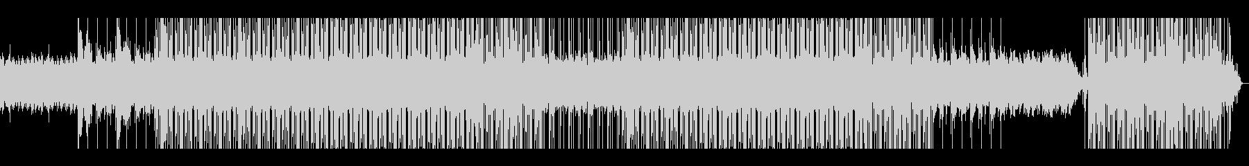 ピアノメインのチルなヒップホップの未再生の波形