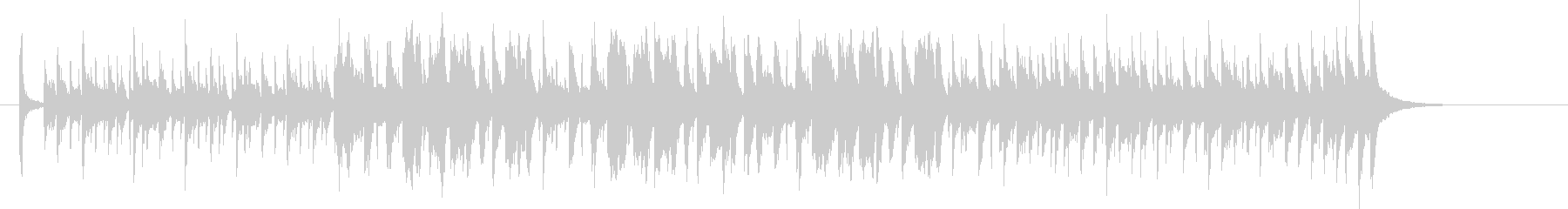 A light and pop band jingle's unreproduced waveform