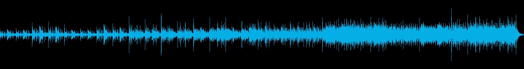 民族パーカッションと機械音の融合の再生済みの波形