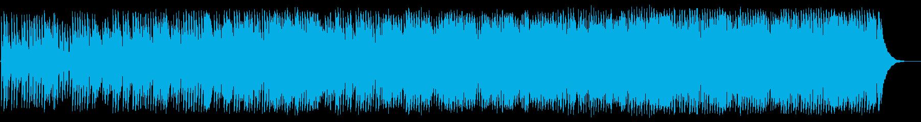 ノスタルジックで心温まるギリシャ民謡の再生済みの波形