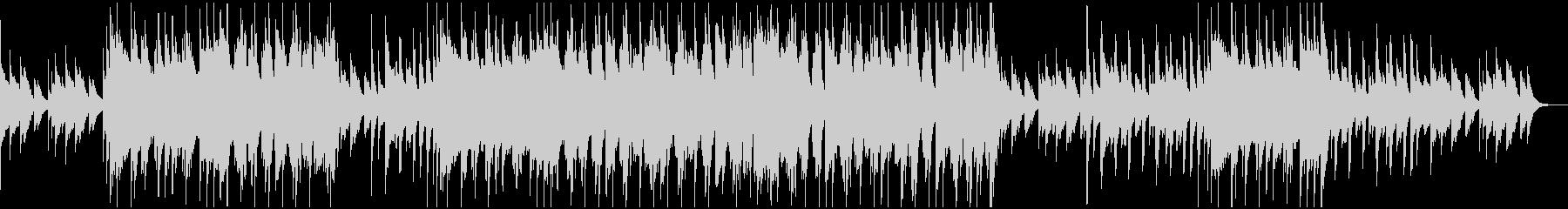 コミカルで可愛らしいポップスBGMの未再生の波形