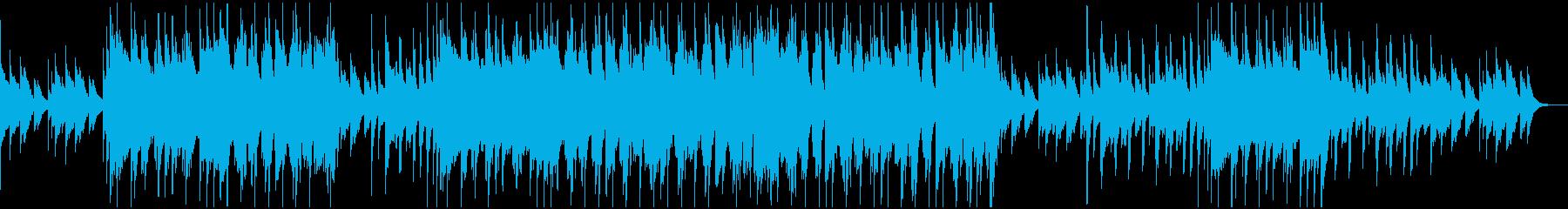コミカルで可愛らしいポップスBGMの再生済みの波形
