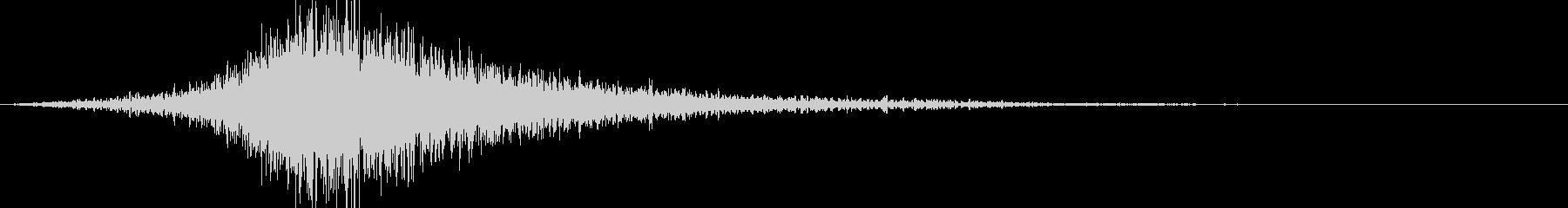 シュー:シーン別で場面転換(ホラー)の未再生の波形