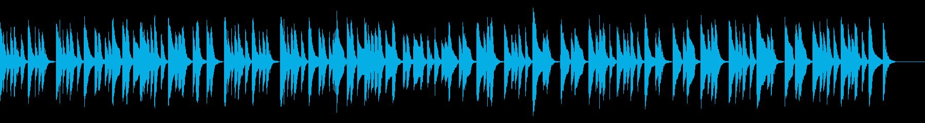 知育・料理・パズル・日常ピアノ27Aの再生済みの波形
