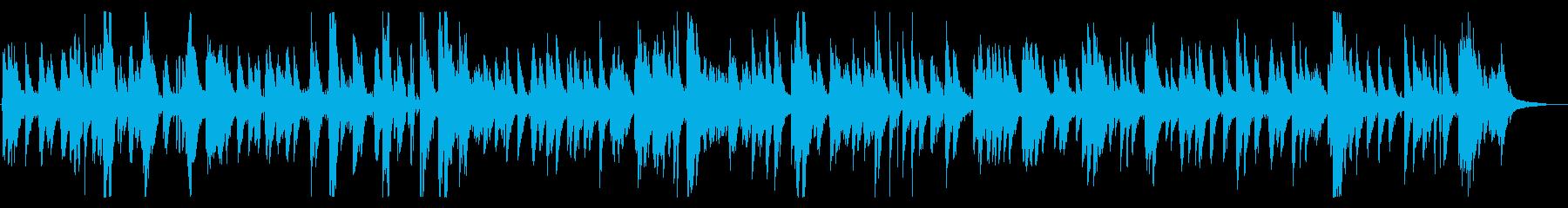 秋お洒落モダンジャズピアノバラード都会的の再生済みの波形