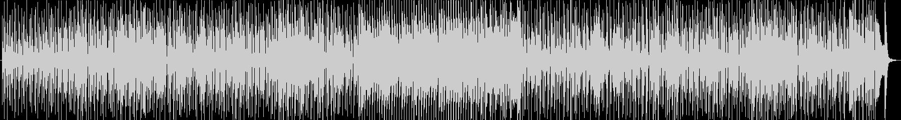 70年代風のレトロファンキーチューンの未再生の波形