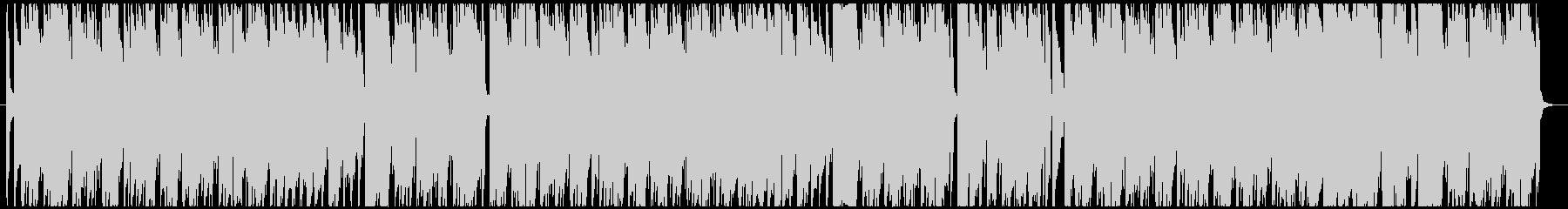 のんびりウキウキ「喜びの歌」の未再生の波形