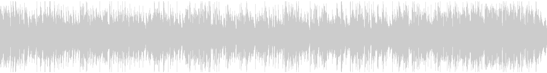 ショータイムっぽいジャズ ※ループ版の未再生の波形