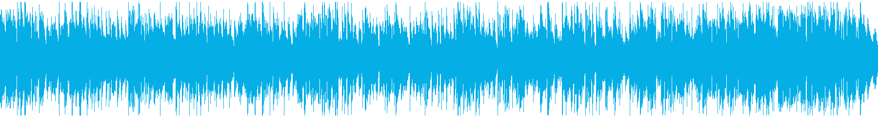 ショータイムっぽいジャズ ※ループ版の再生済みの波形