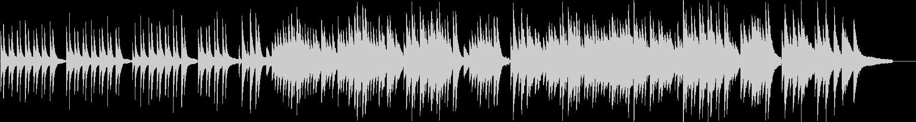仰げば尊しピアノソロバージョンの未再生の波形