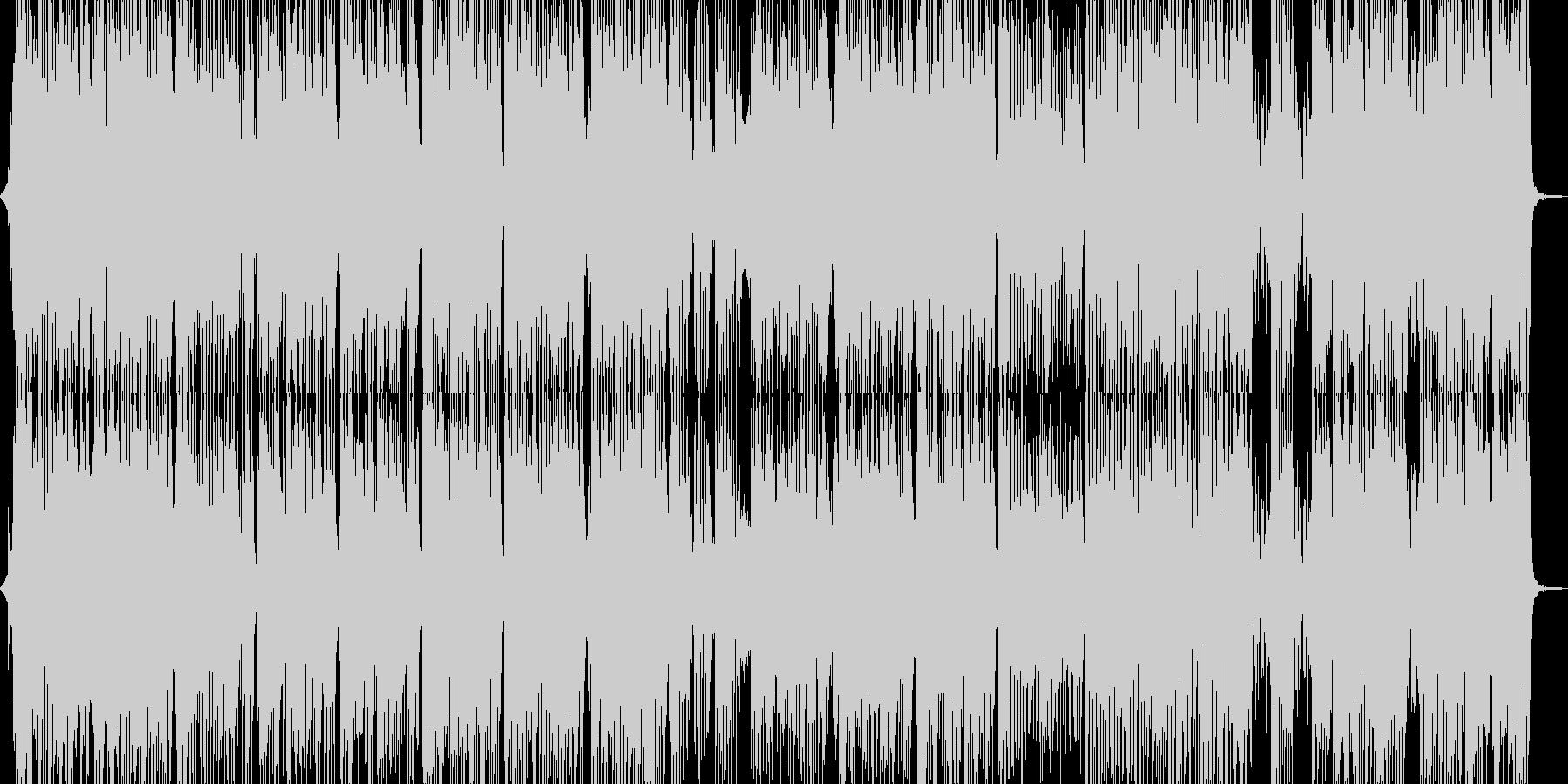 体が弾む明るいR&Bパレードポップの未再生の波形