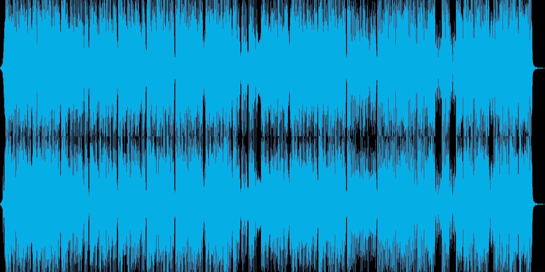 体が弾む明るいR&Bパレードポップの再生済みの波形