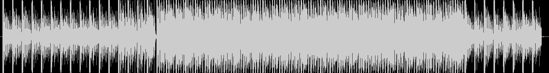 緊迫感のあるサウンドの未再生の波形