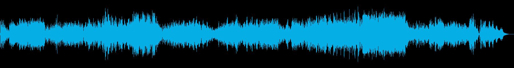 エレジー チェロとピアノ フォーレの再生済みの波形