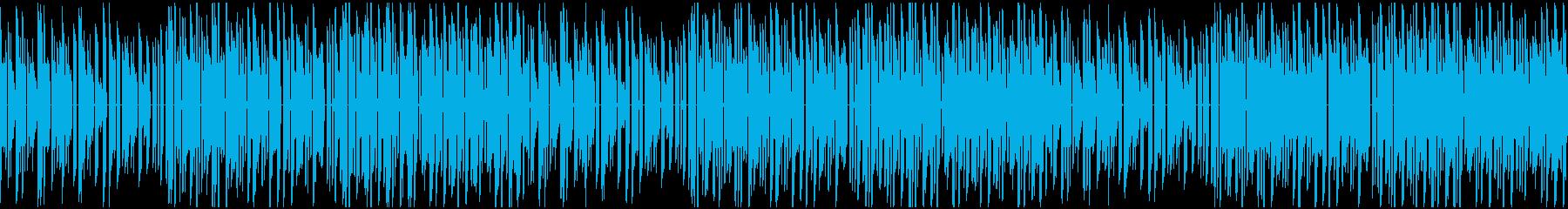 冒険が始まりそうなファミコンっぽいBGMの再生済みの波形