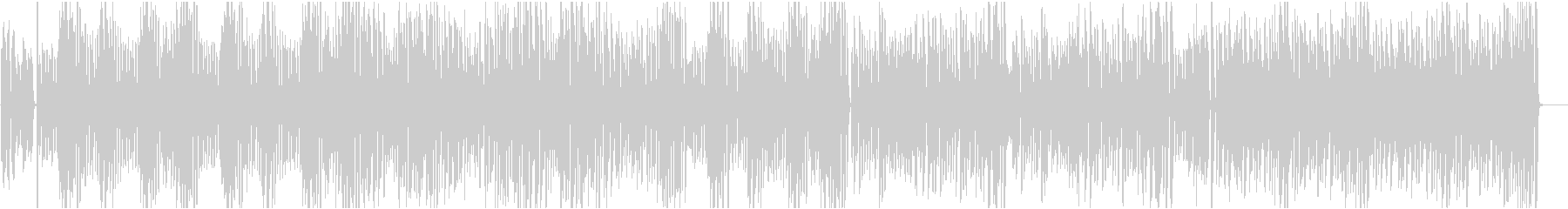 ピアノ名曲 ラグタイムと言えばこの曲の未再生の波形