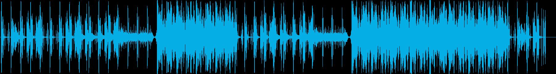 チルアウト R&B トラップの再生済みの波形