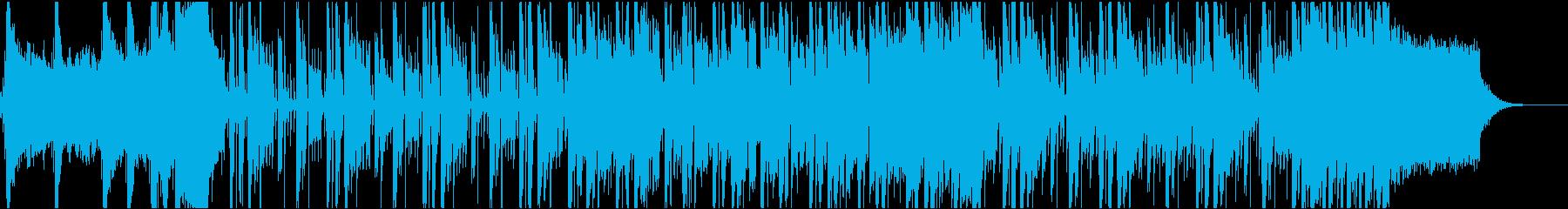 ファンシーでスタイリシュなポップジングルの再生済みの波形