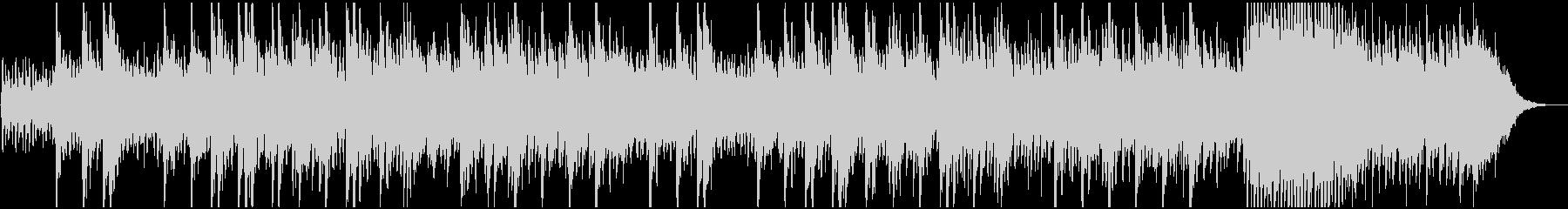 感動的な映像、CM用わくわくするピアノ曲の未再生の波形