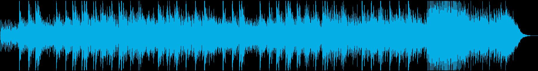 感動的な映像、CM用わくわくするピアノ曲の再生済みの波形