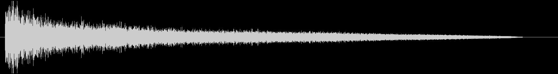 FX ゴングロング01の未再生の波形