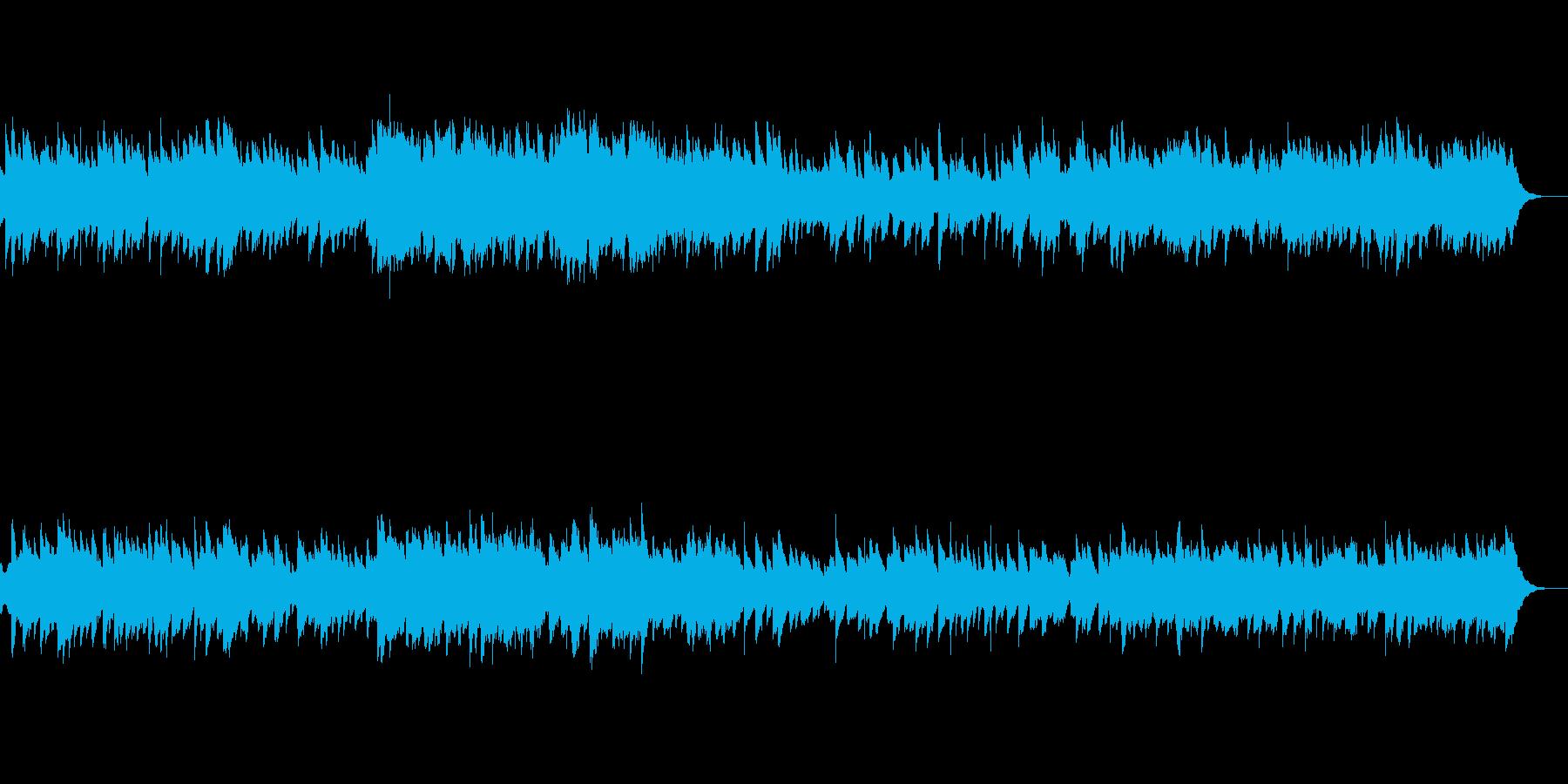 鉄琴とハーモニクスのリラクゼーションの再生済みの波形