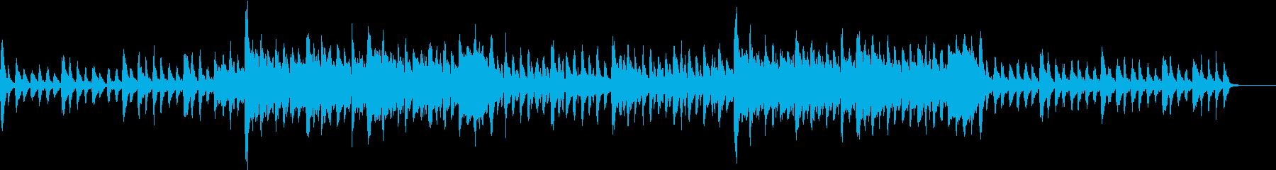 ダークキュートなハロウィンBGMの再生済みの波形