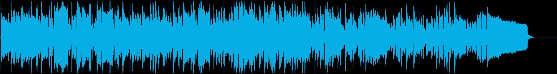 メランコリックでアンニュイなリコーダー曲の再生済みの波形