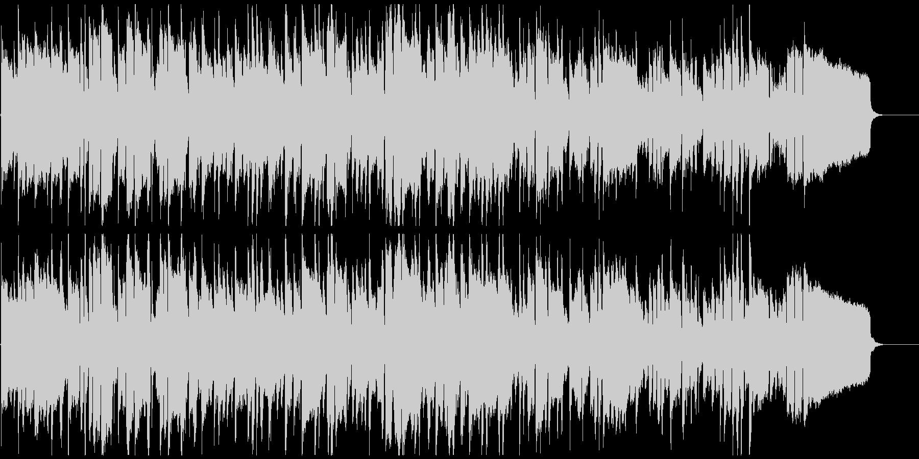 メランコリックでアンニュイなリコーダー曲の未再生の波形