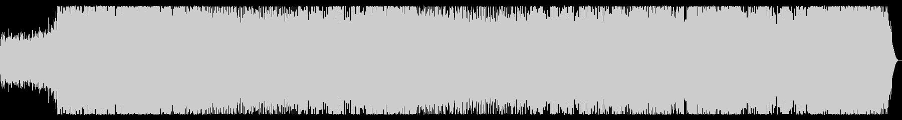 スピードメタル 攻撃的な疾走チューンの未再生の波形
