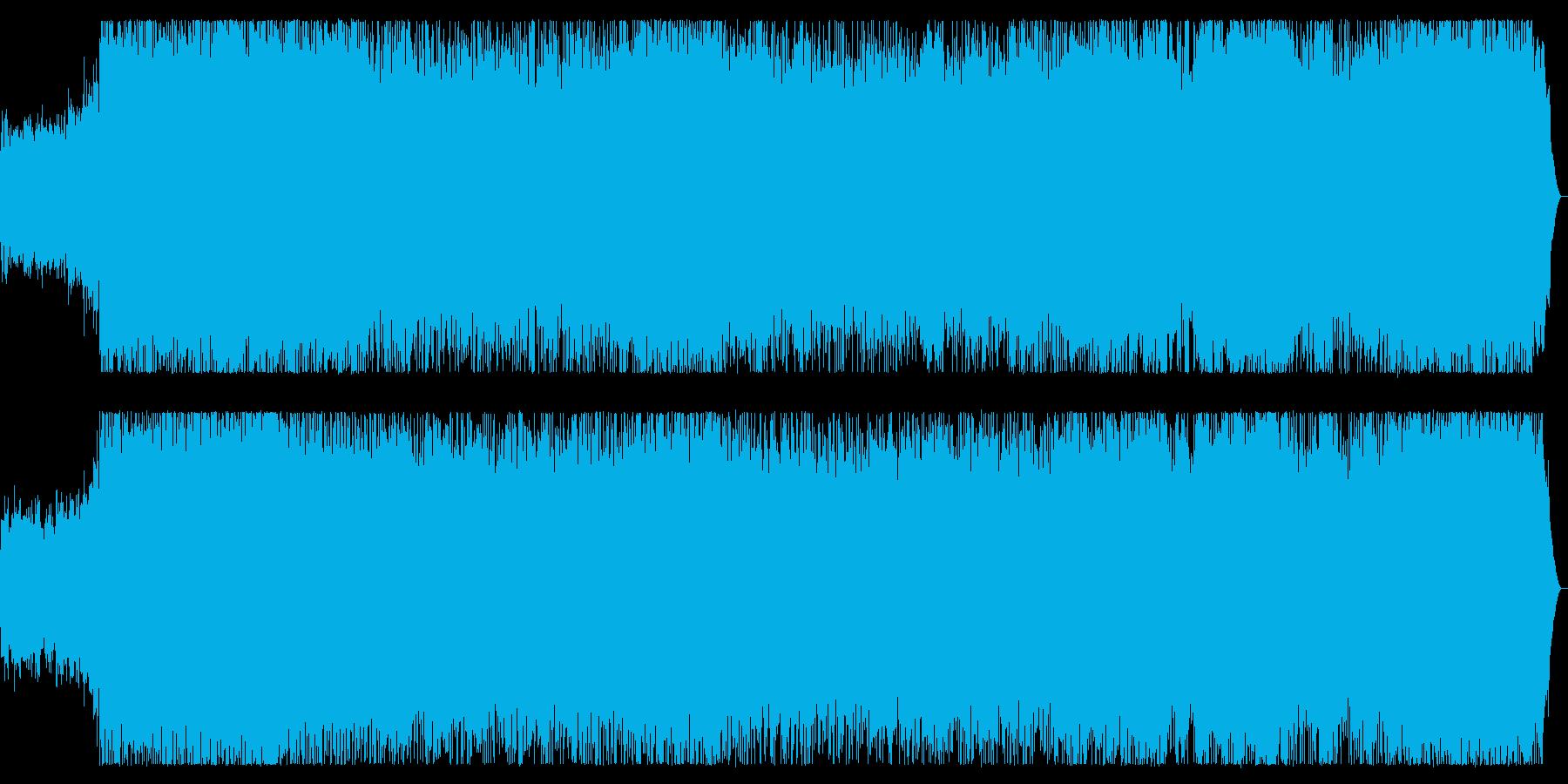 スピードメタル 攻撃的な疾走チューンの再生済みの波形