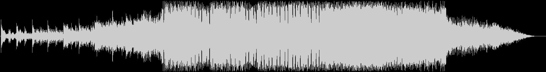 ロックとファンタジーなゲーム音楽テイストの未再生の波形