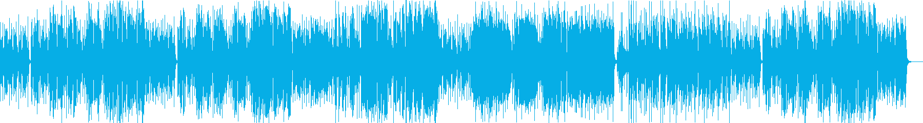 ラッパが渋いジャズファンク(イントロ付の再生済みの波形