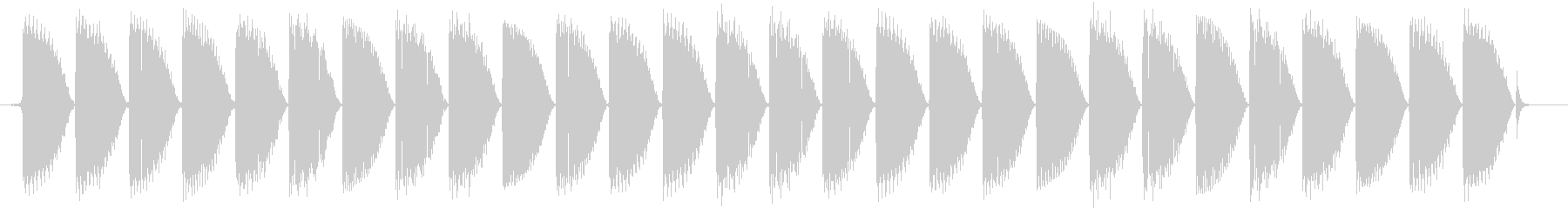 ピロリロリロ、というルーレットマシンの…の未再生の波形