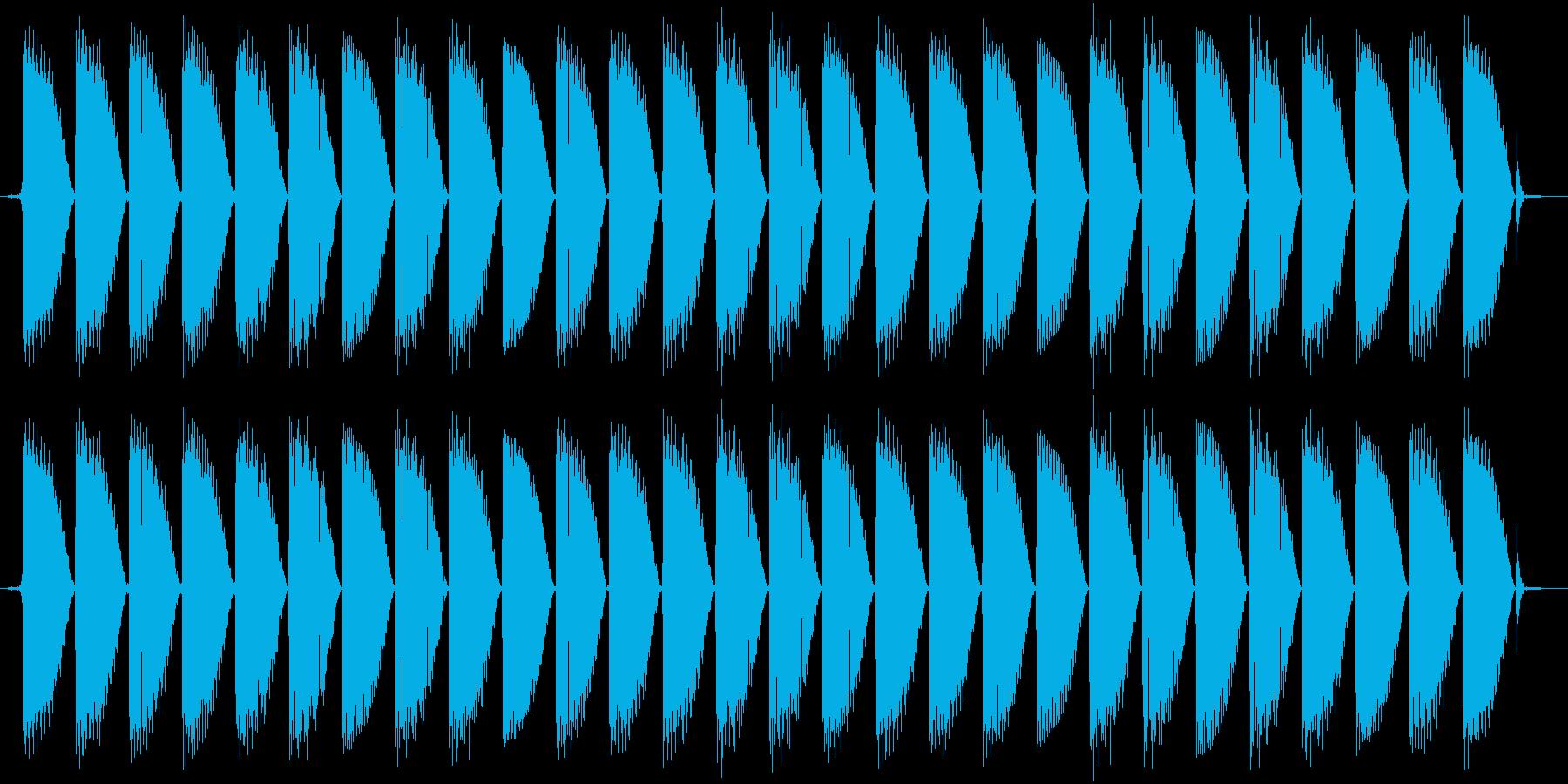 ピロリロリロ、というルーレットマシンの…の再生済みの波形