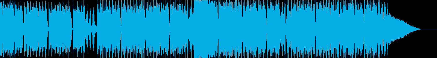 【トランス】淡々とした映像をイメージの再生済みの波形