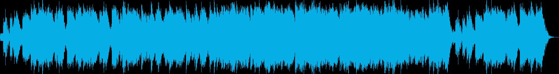 フワフワとしたアンビエントの再生済みの波形