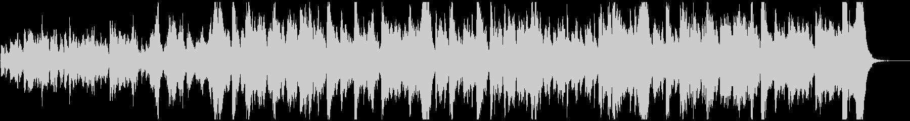 ほのぼのゆったりとしたオーケストラワルツの未再生の波形